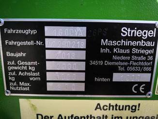 Loader articulada Striegel 160 DY/A - 8